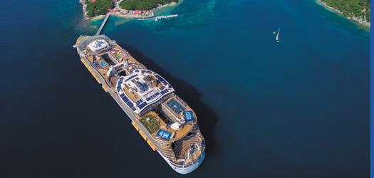 アリュール・オブ・ザ・シーズ 【バルセロナ発着】世界最大の船で行く西地中海クルーズ 8日間