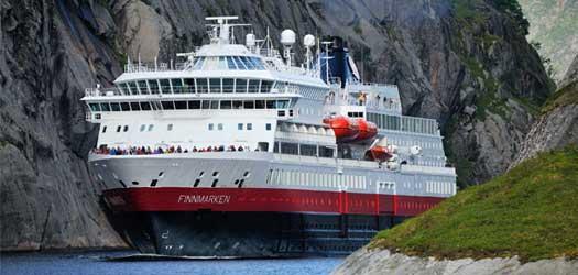 フィンマルケン【ベルゲン発キルケネス着】ノルウェー 沿岸急行船 北行きクルーズ 7日間