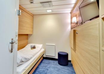 496フィンマルケン【ベルゲン発キルケネス着】ノルウェー 沿岸急行船 北行きクルーズ 7日間