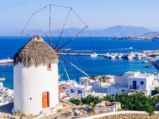 ミコノス島(ギリシャ)