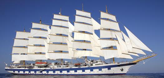 ロイヤル・クリッパー 世界最大の帆船で巡る西地中海 8日間