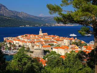 コルチュラ島(クロアチア)